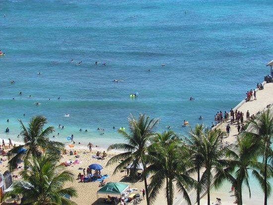 Park Shore Waikiki: Zimmeraussicht