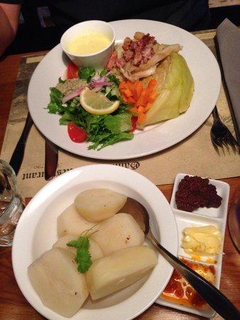 Gammelbua: Stockfish as main dish