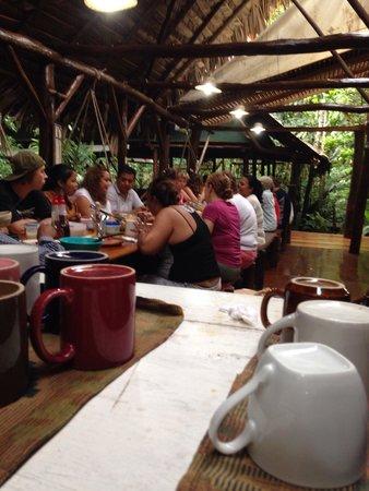 Hotel Finca Tatin: Cena familiar