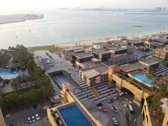 JA Ocean View Hotel: sea view fromm my room at 17th floor