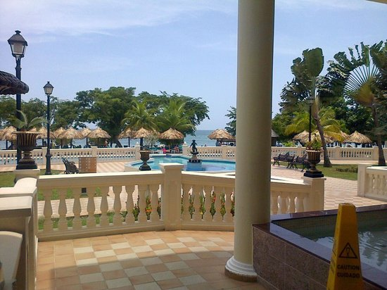 ClubHotel Riu Negril: view from reception