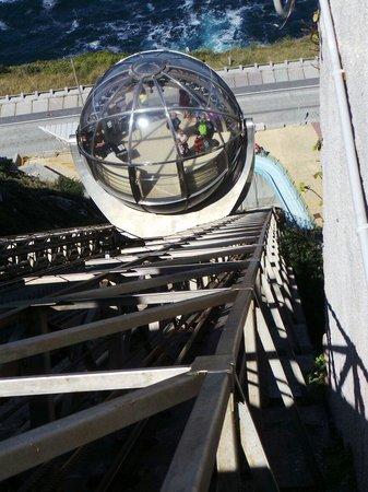 Monte de San Pedro: Le funiculaire