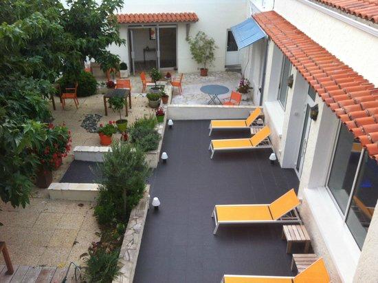Grand Hotel Des Bains: vue de la chambre