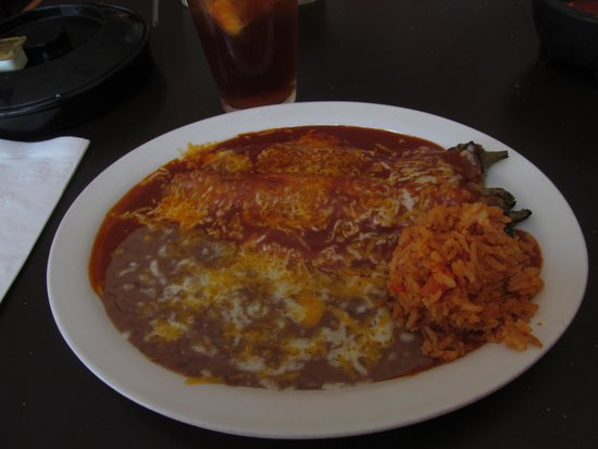 The Jalisco Cafe: Smothered Chili Relleno Plate--heavenly!