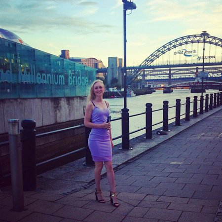 Malmaison Newcastle: Wonderful views over the river. This was taken just outside the hotel. I would suggest requestin
