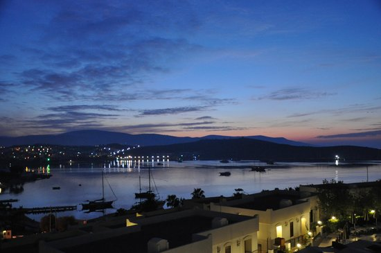 WOW Bodrum Resort: View from the main terrace