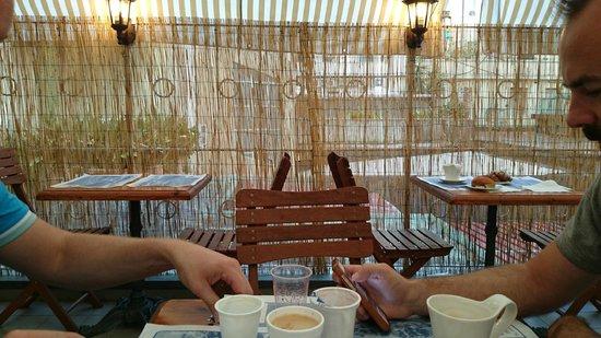 Hotel Corallo: Breakfast Area outside 2