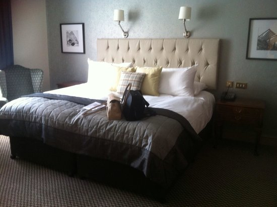 The Grand Brighton: My bed at the grand hotel