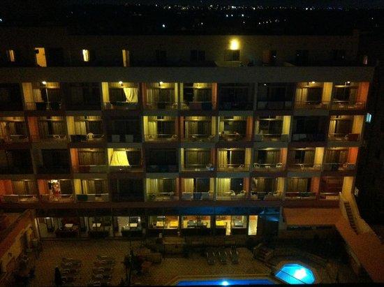 Blue Sea Santa Maria: Roof top view at night