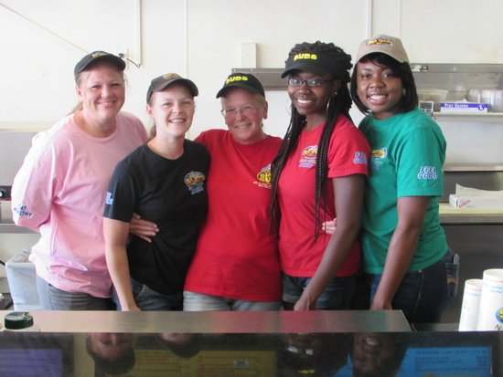 Larry's Giant Subs : Our Staff with 25 Years total Experience Serving our Customers