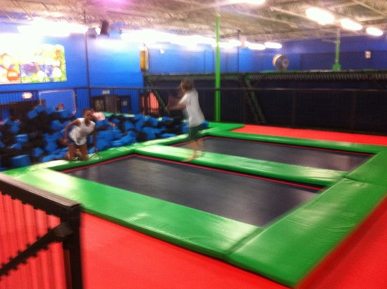 Rebounderz Indoor Trampoline Arena