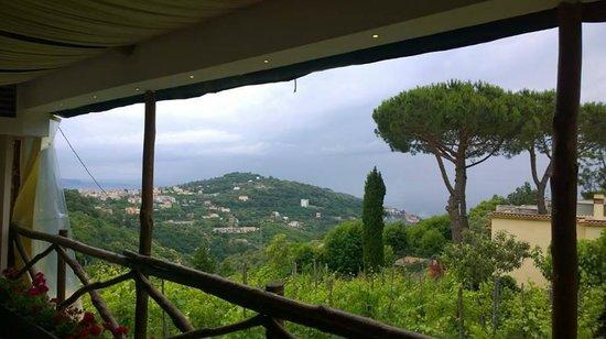 Don Pedro Sorrento: The view at Don Pedros