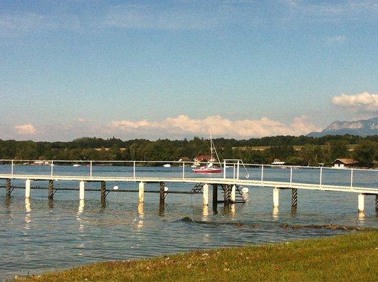 Chateau de Coudree: La belle vue sur le lac
