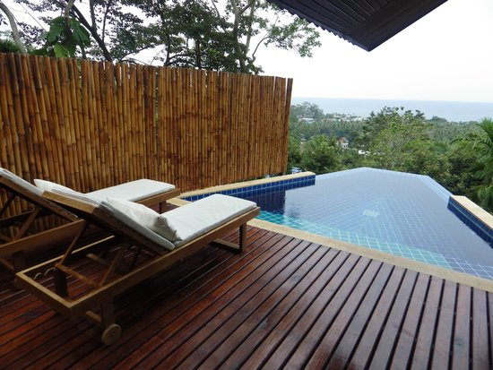 The Place Luxury Boutique Villas: The infinity pool, stunning.