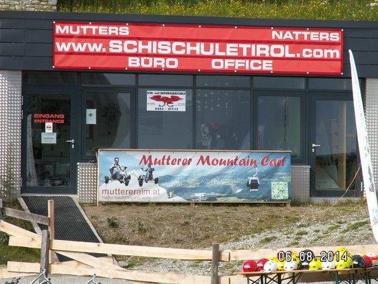 Muttereralm Mountain Cart: The office