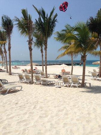 Hotel Riu Palace Peninsula: Beach
