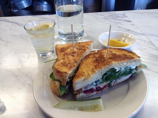 Marie Catrib's of Grand Rapids : Chicken Cranberry Sandwich