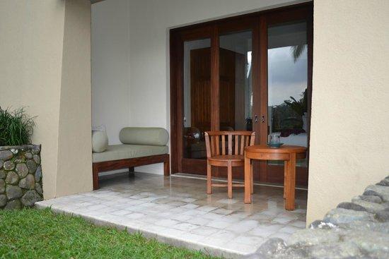 Alila Ubud: Deluxe Room terrace