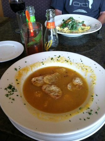 Cosimo's Brick Oven Of Middletown: butternut squash soup