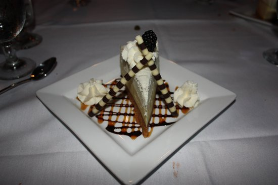 Mount Princeton Hot Springs Resort : Vanilla Bean Cheesecake