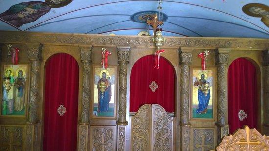 Marelen Hotel: Inside the little chapel