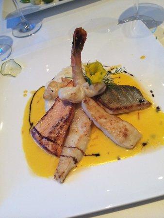 Restaurant Lindenhof: Verschiedene Fische