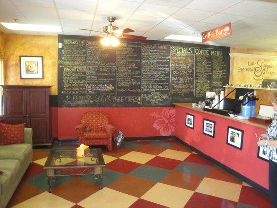 Backstreet Cafe : Greatt Menu