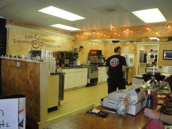 Backstreet Cafe : The kitchen
