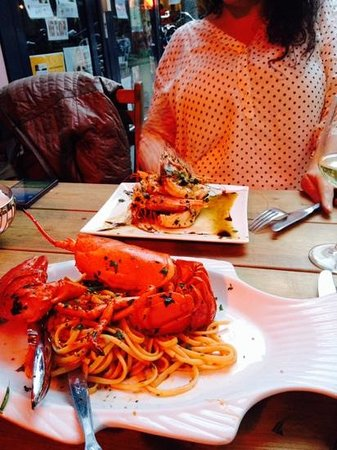 Assaggi: Pasta and Lobster