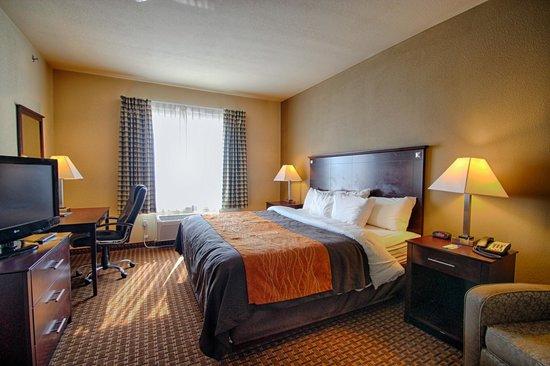 Comfort Inn & Suites Near Lake Lewisville: Standard King