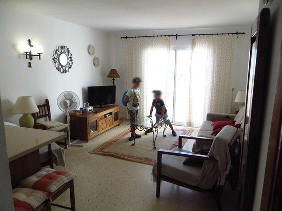 Nerja Villas Capistrano: vista soggiorno/terrazzo
