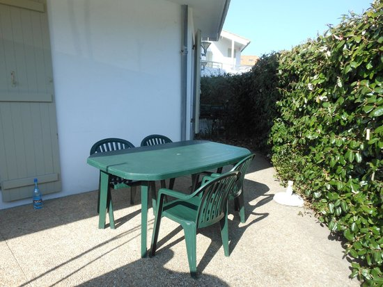 Residence le Mail Plage : Terrasse