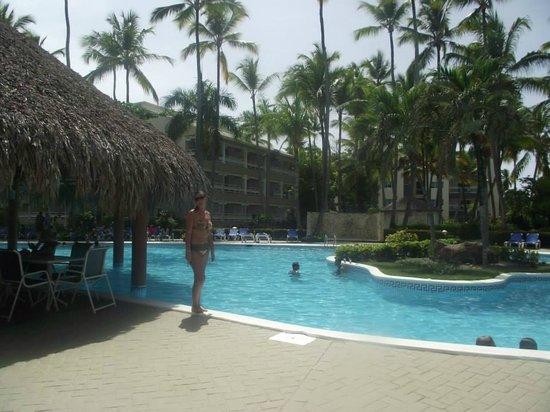 Vista Sol Punta Cana: En la piscina principal