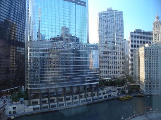 Wyndham Grand Chicago Riverfront: Room with a view