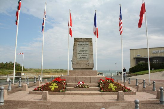 Omaha Beach: sus aliados