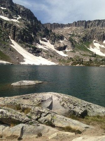 Lake Solitude: Best lunch spot ever!