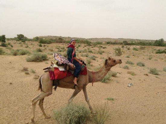 Desert Anna Safari Hotel & Camp: Camel riding