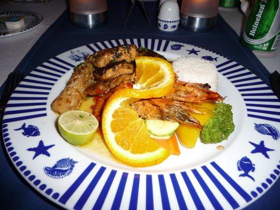 SENTIDO Mamlouk Palace Resort: Felluca Seaford Meal
