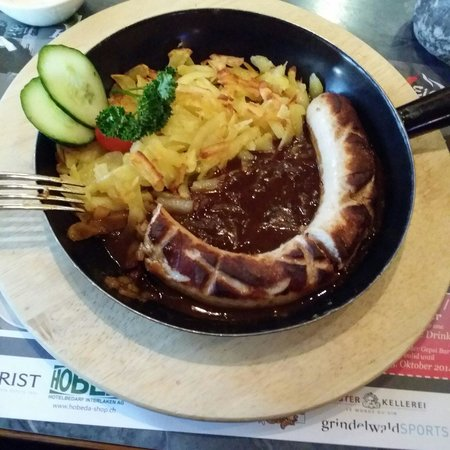 Bistro Memory: Roati with veal sausage