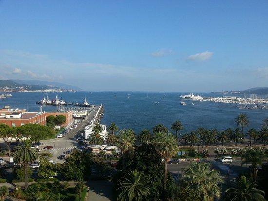 NH La Spezia: vue chambre 723