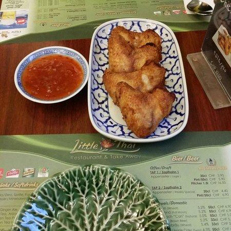 Restaurant Little Thai: Thai fried chicken wing
