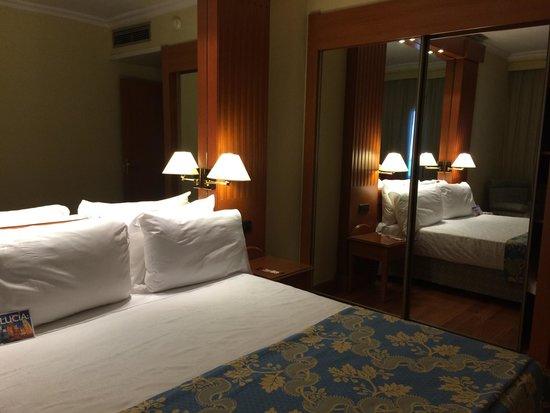 Hotel Sevilla Macarena : Habitacion doble. Cama de matrimonio. Cuarta planta.
