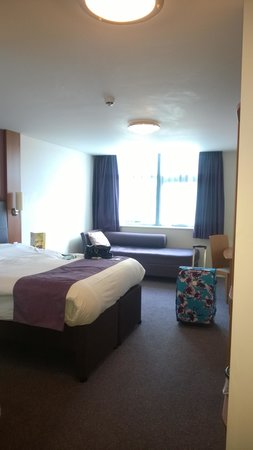 Premier Inn York City (Blossom St South) Hotel: Bedroom