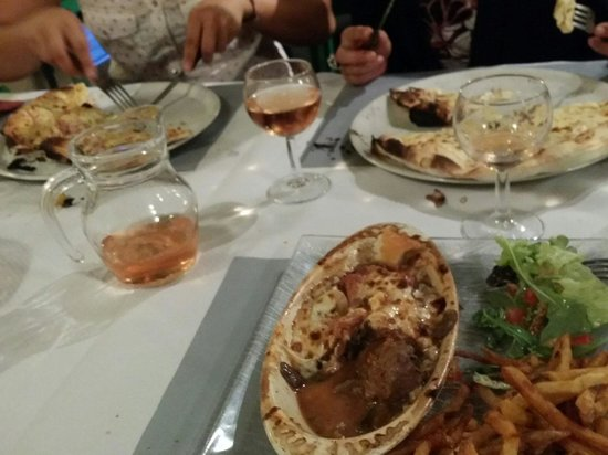 Le tournesol artigues pr s bordeaux avenue mirail for Repas de soiree