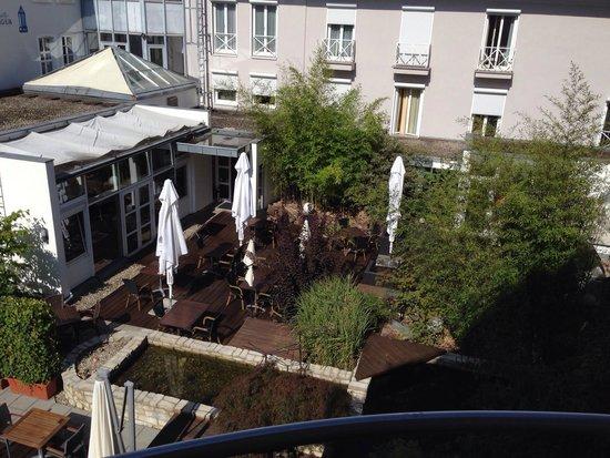 Domicil Leidinger Village : Vue du balcon de notre balcon