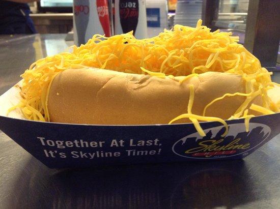 Great American Ball Park Skyline Hotdog