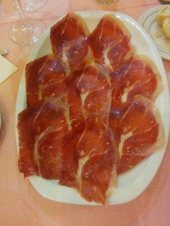 Restaurante La Tasca: Pata negra del bueno de verdad.