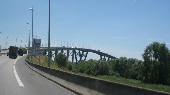Le Pont de Normandie: le pont
