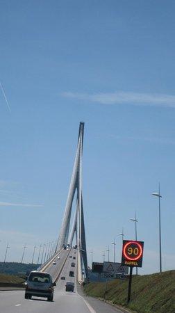 Le Pont de Normandie: pont