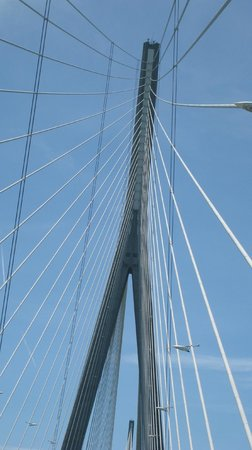 Le Pont de Normandie: puente
